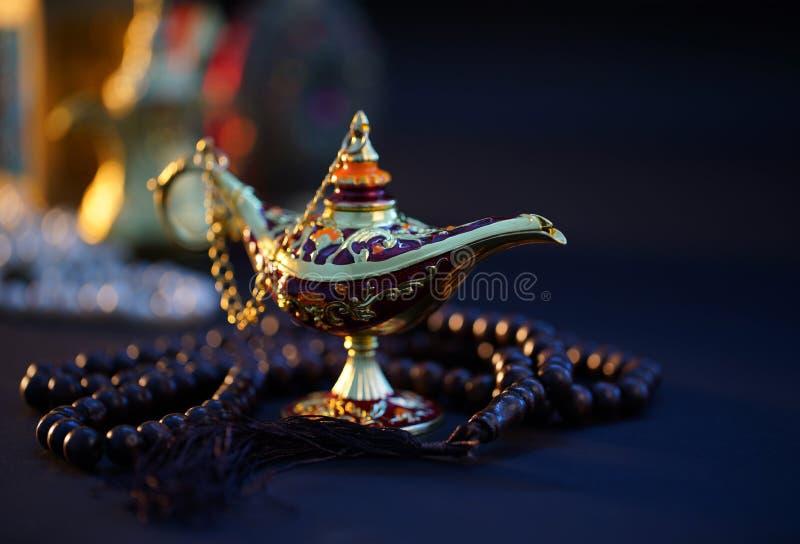 Ramadan Kareem, cumprimento festivo fotografia de stock