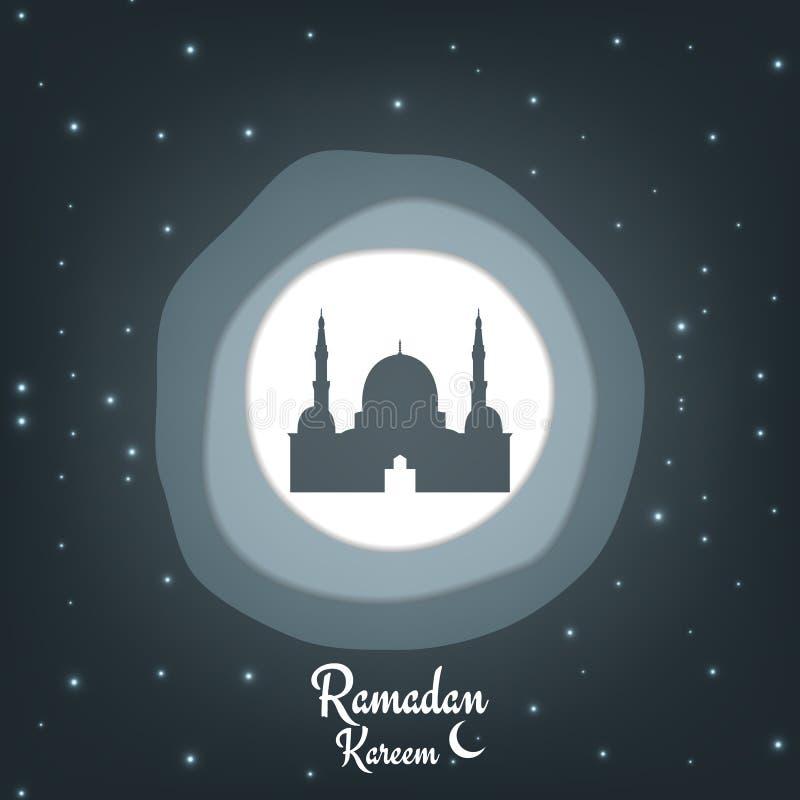 Ramadan Kareem Document besnoeiings vectorachtergrond voor Islamitische vakantie