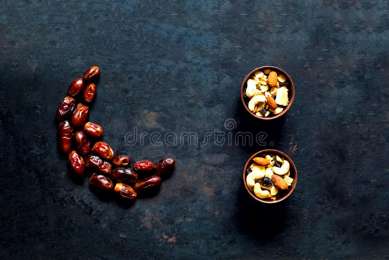 Ramadan Kareem E foto de archivo