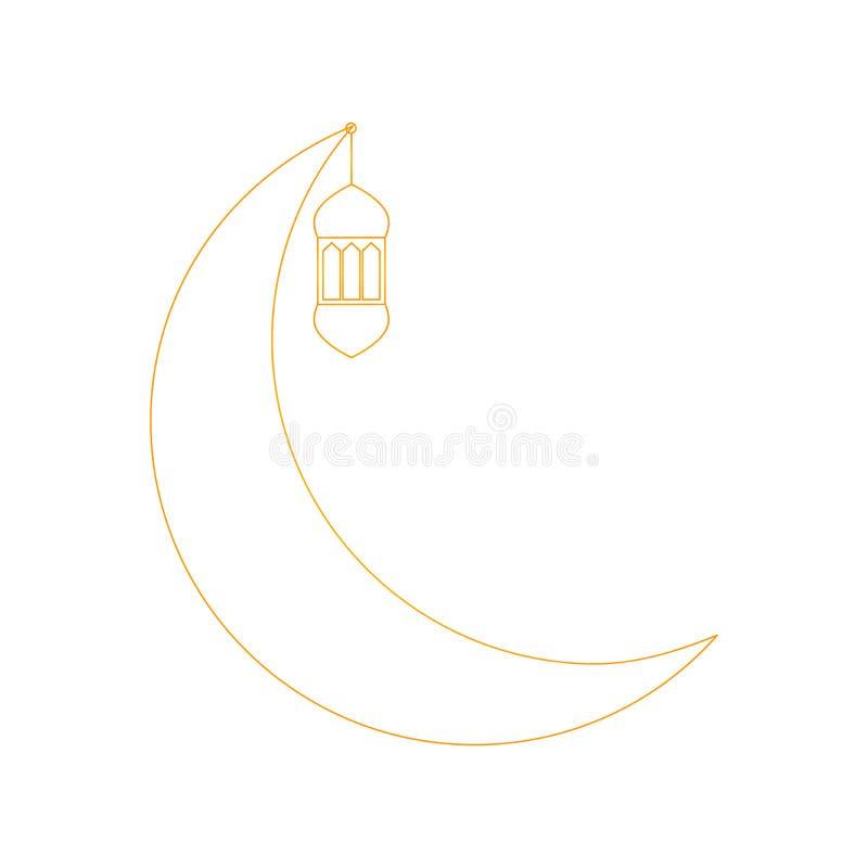 Ramadan kareem ikona ilustracja wektor