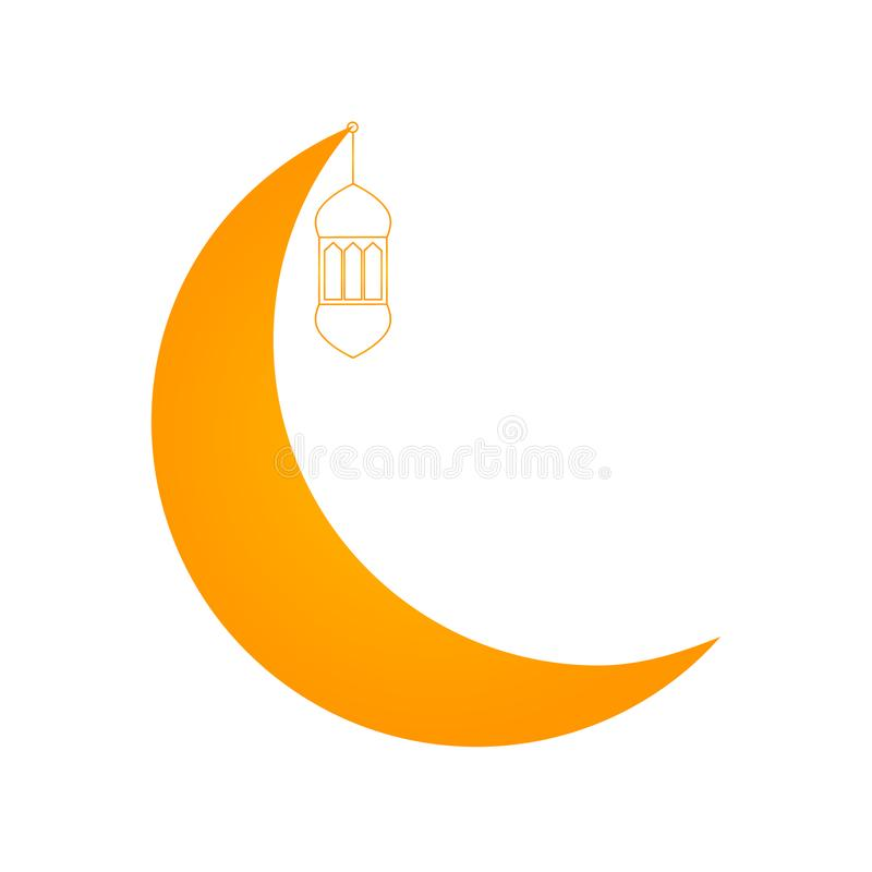 Ramadan kareem ikona ilustracji