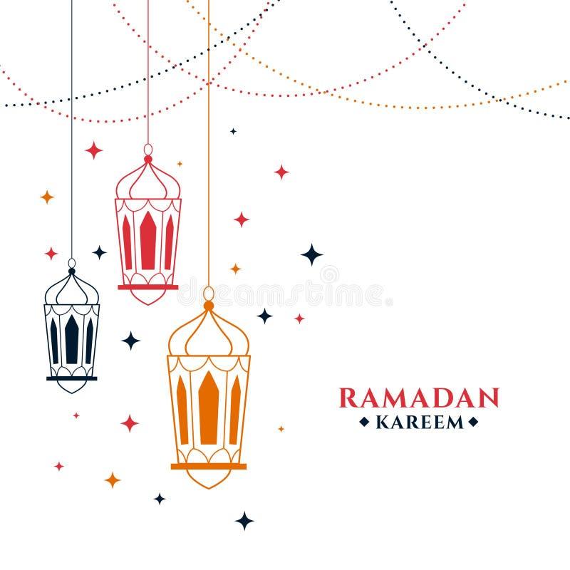 Free Ramadan Kareem Illustration In Doodle Line Style Stock Images - 214481174