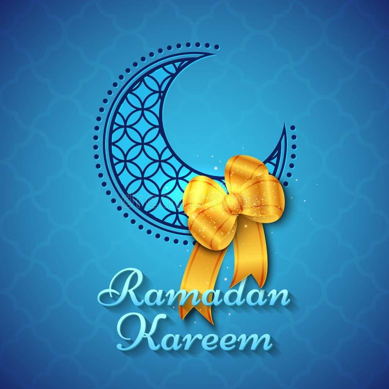 Ramadan Kareem Islamic Greeting Background ilustração stock