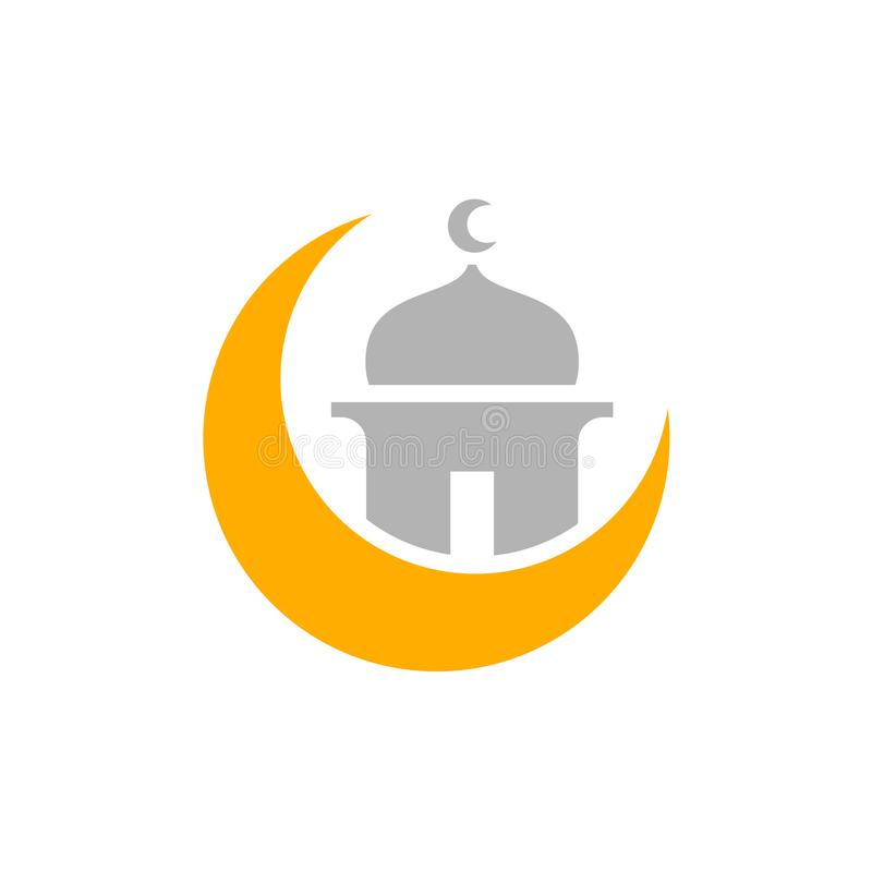 Ramadan Kareem, Ramadhan Mubarak, muselman eller muslimsk enkel design vektor illustrationer