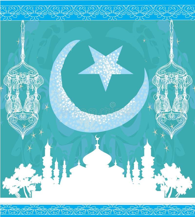 Ramadan Kareem Vector Design stock illustratie
