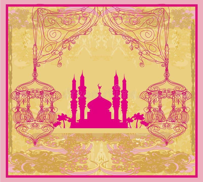 Ramadan Kareem Vector Design vector illustratie