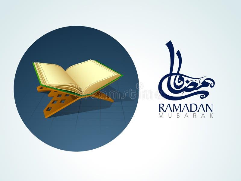 Ramadan Kareem-viering met Islamitisch boek Quran Shareef