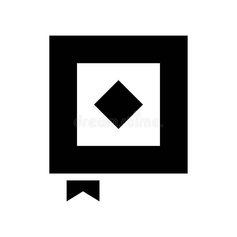 Ramadan Koran Journal-Buch Islam-Religions-Kultur-Vektor Glyph-Ikonen Editable Anschlag und Farbe vektor abbildung