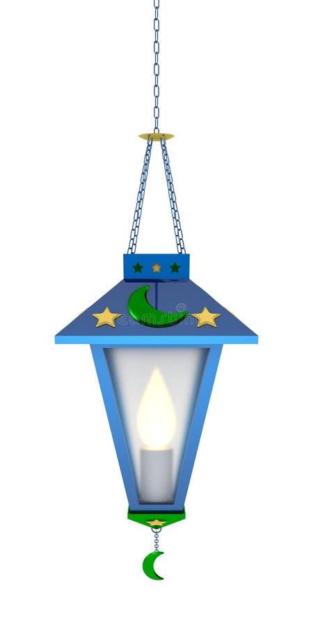 Ramadan Lantern árabe imagem de stock