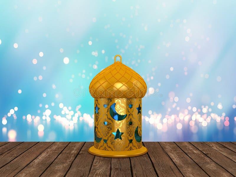 Ramadan Lantern árabe imagens de stock royalty free