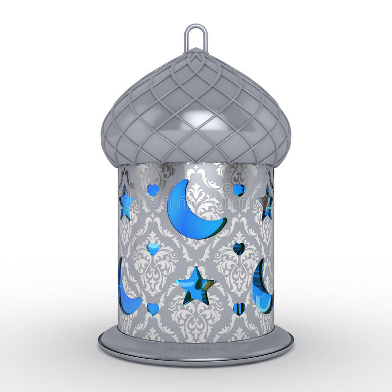 Ramadan Lantern árabe imagem de stock royalty free