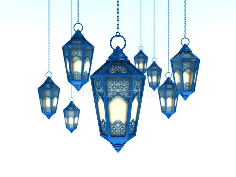 Ramadan Lantern árabe fotografia de stock