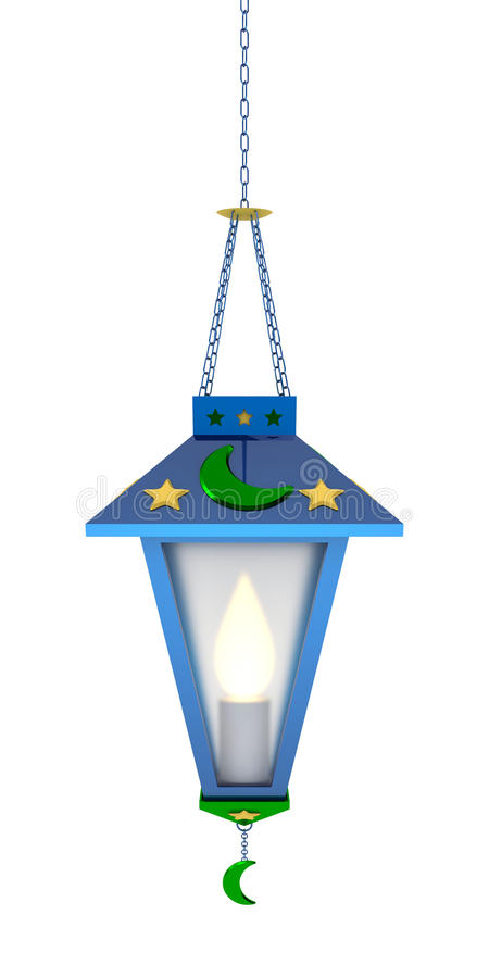 Ramadan Lantern arabe image stock