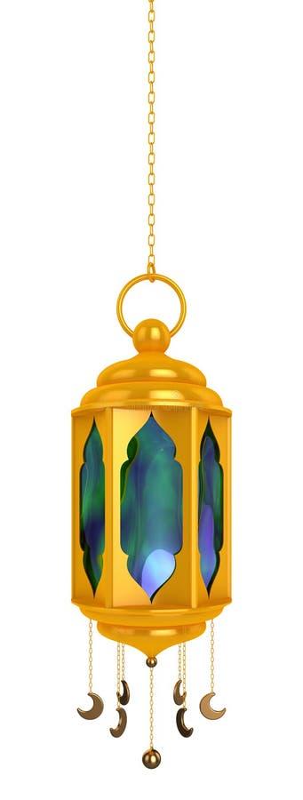 Ramadan Lantern arabe images libres de droits