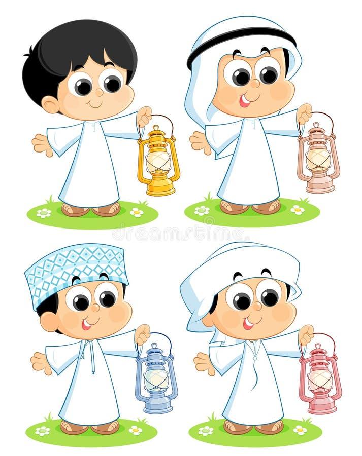 Ramadan Mubarak vector illustratie
