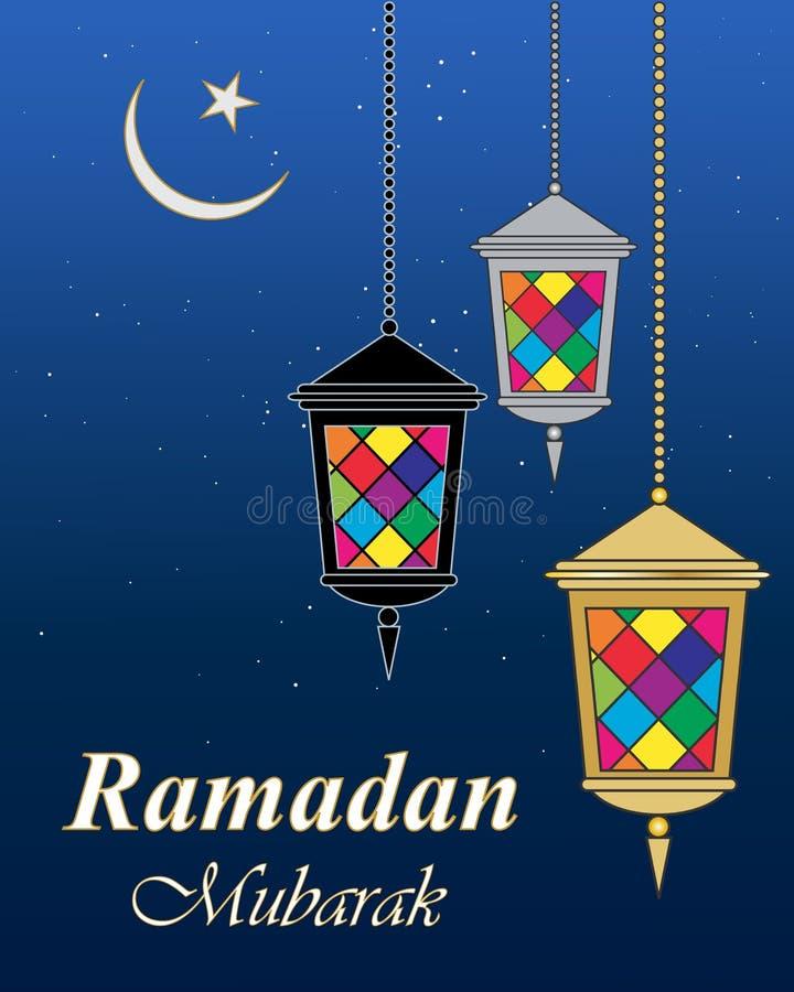 Ramadan mubarak stock illustration