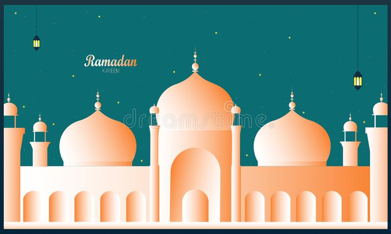Ramadan projekt, islamski kreatywnie t?o, Ramadan kareem, Ramadan Mubarak - wektor ilustracji