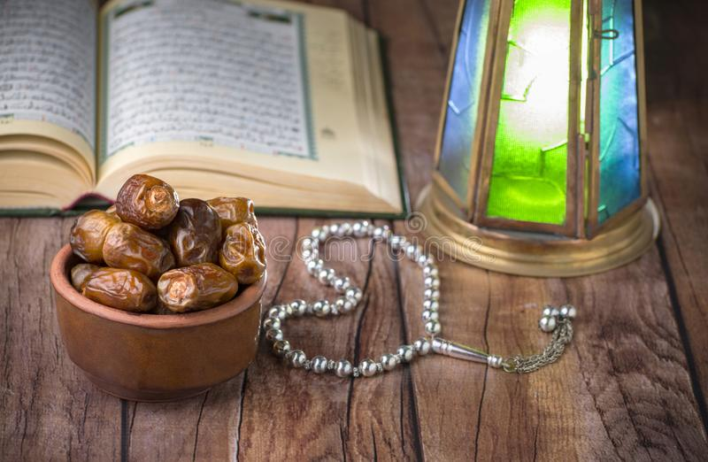 Ramadan Ritual Islamic Traditional Items fotos de stock