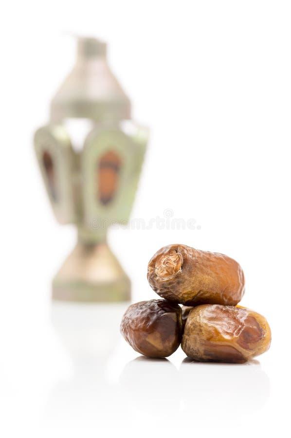 Ramadan Ritual Islamic Traditional Items imagens de stock royalty free