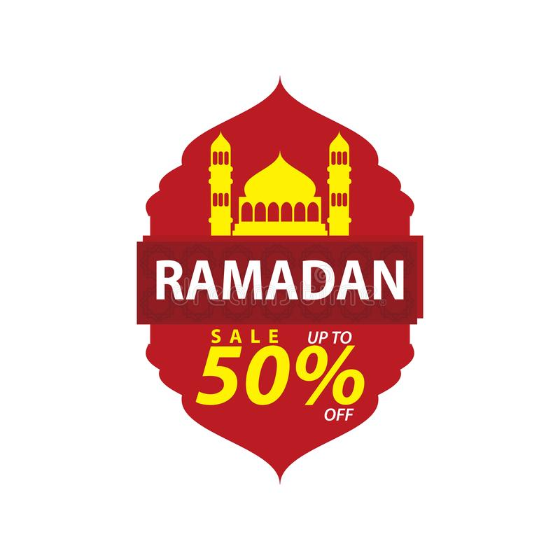 Ramadan Sale Design Vector, plantilla moderna libre illustration