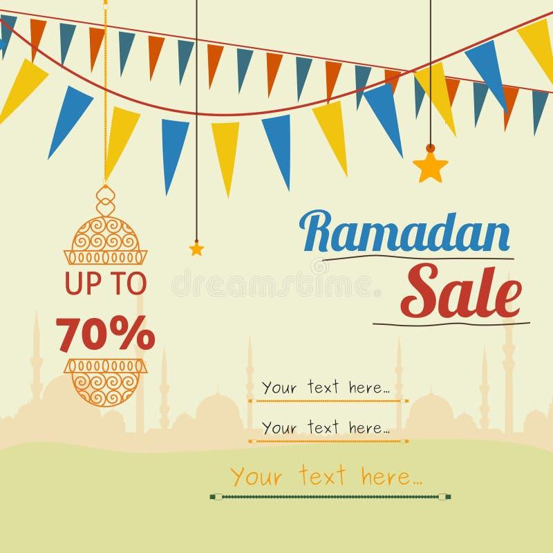 Ramadan sprzedaż royalty ilustracja