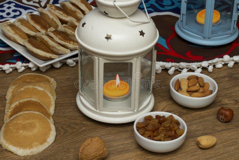 Ramadan Sweets - Qatayef photographie stock libre de droits