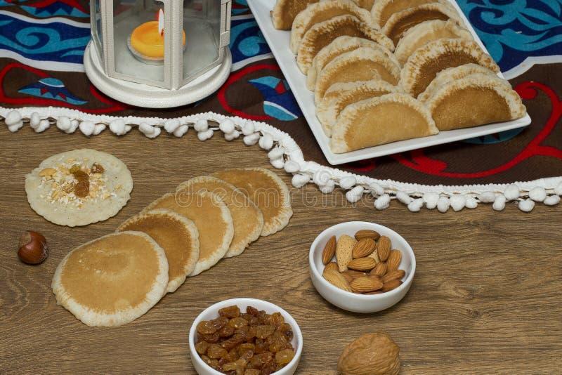Ramadan Sweets - Qatayef image stock