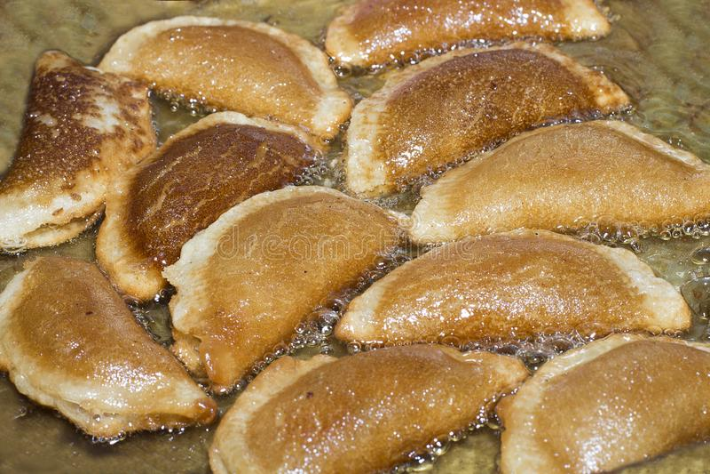 Ramadan Sweets - Qatayef photographie stock