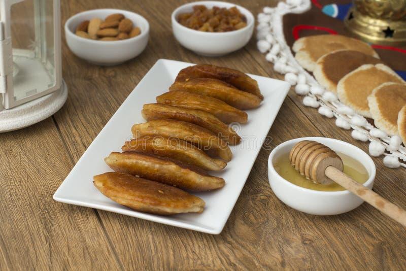 Ramadan Sweets - Qatayef images libres de droits
