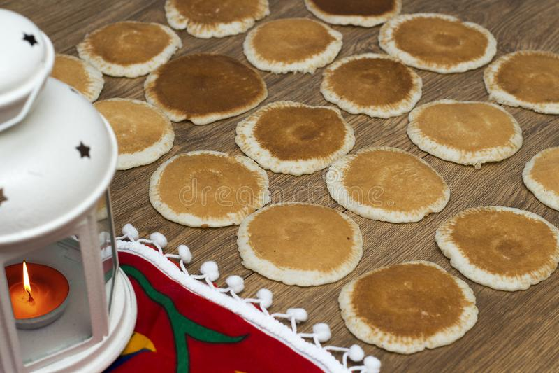 Ramadan Sweets - Qatayef photo stock