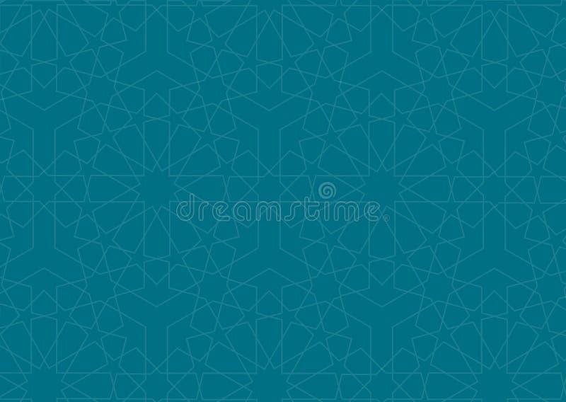 Ramadan tło - EPS wektor royalty ilustracja