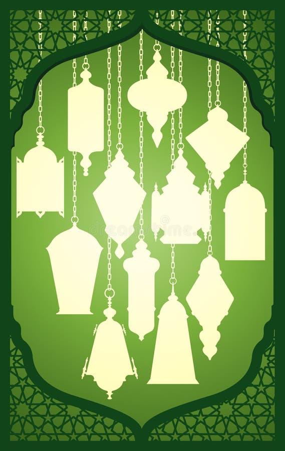 Ramadanlantaarn met Islamitisch decoratief kader
