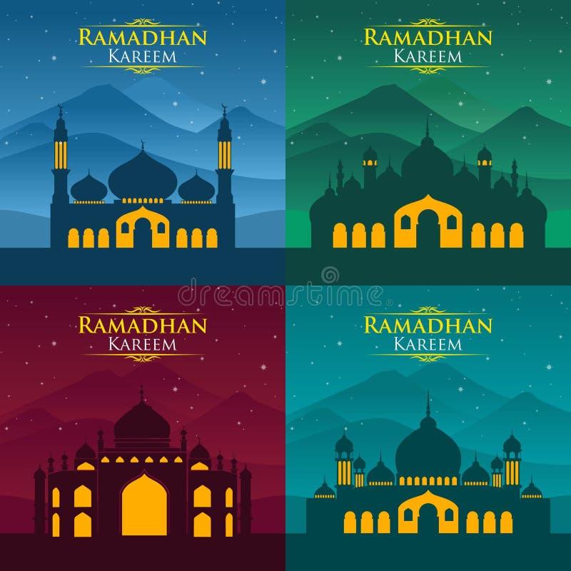 Ramadhan Kareem 3 illustrazione di stock