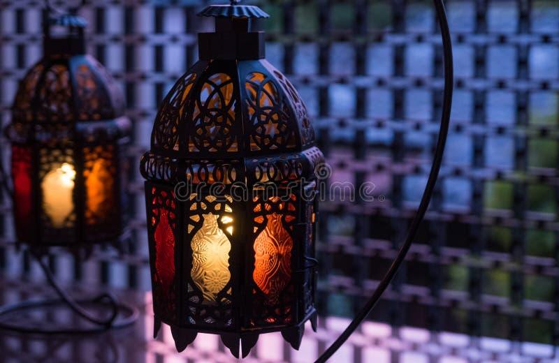 Ramadhan oder Eid Lantern lizenzfreie stockbilder