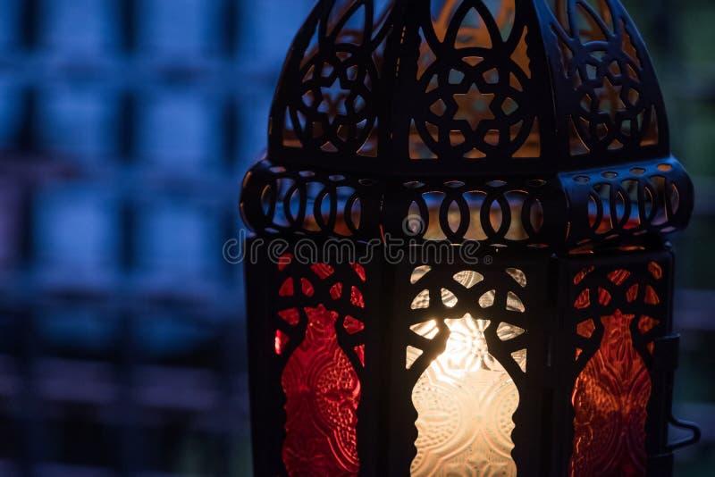 Ramadhan ou Eid Lantern imagem de stock