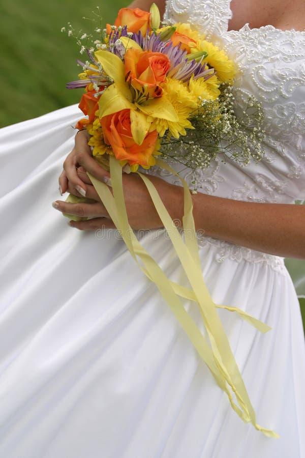 Ramalhete 2 do casamento imagem de stock royalty free