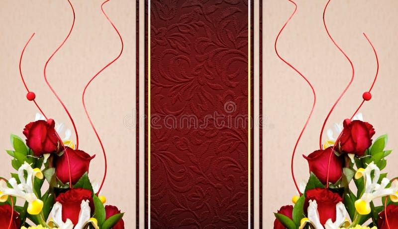 Ramalhete bonito das flores ilustração royalty free