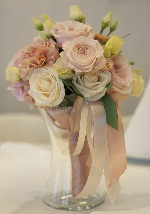 Ramalhete bonito para a noiva fotos de stock royalty free