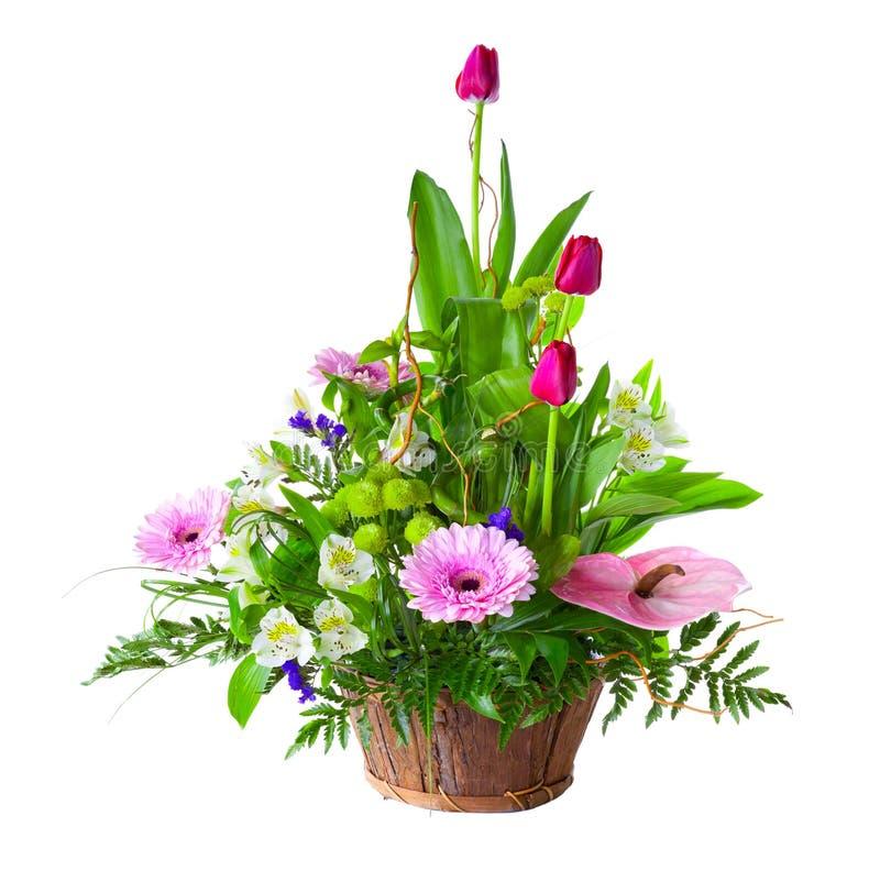 Ramalhete brilhante da flor imagens de stock royalty free