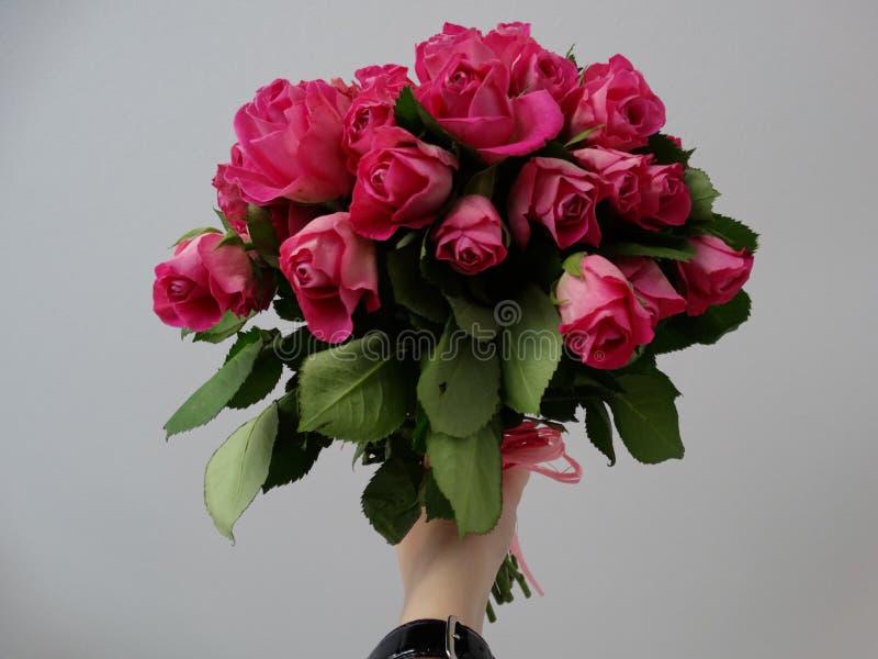 Ramalhete das rosas fotografia de stock