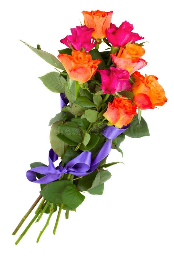 Download Ramalhete De Rosas Alaranjadas Foto de Stock - Imagem de objeto, romântico: 29829706