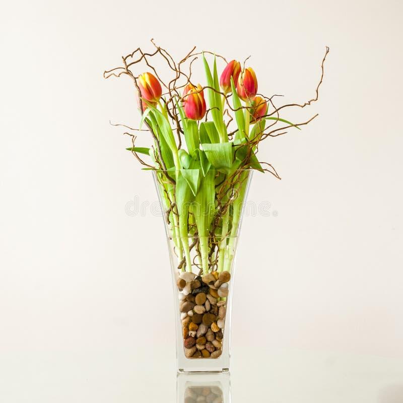 Ramalhete das tulipas foto de stock royalty free