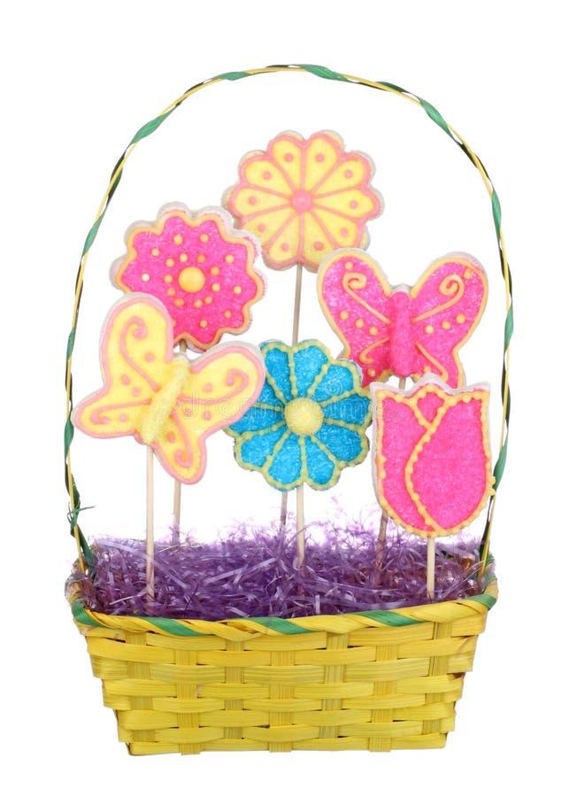Ramalhete de Easter isolado fotografia de stock