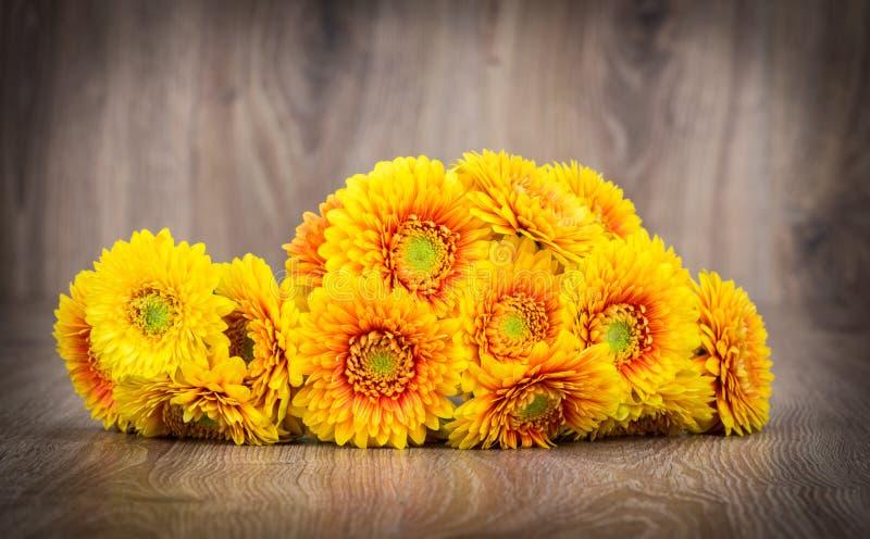 Ramalhete de flores de Gerber imagem de stock