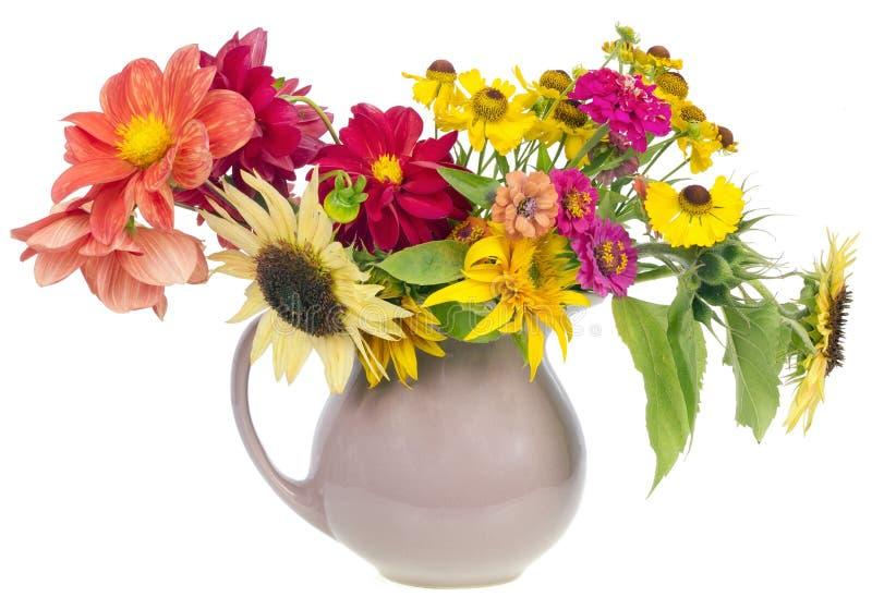 Ramalhete de Minimalistic das flores do verão fotografia de stock