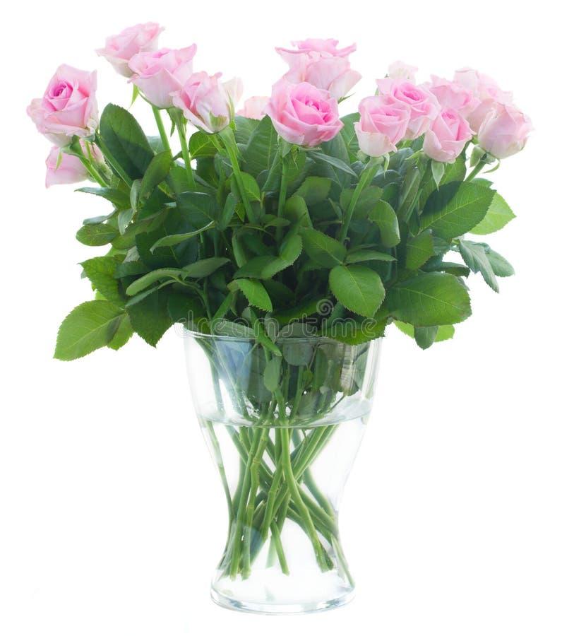 Ramalhete de rosas frescas fotografia de stock royalty free