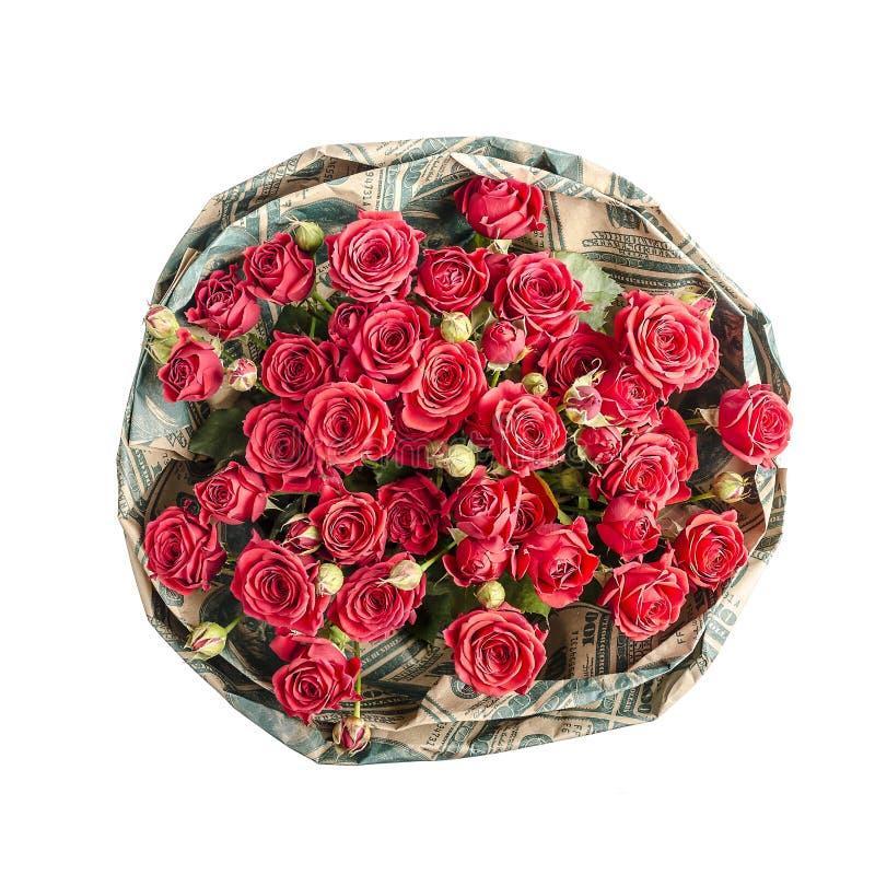 Ramalhete de rosas vermelhas foto de stock
