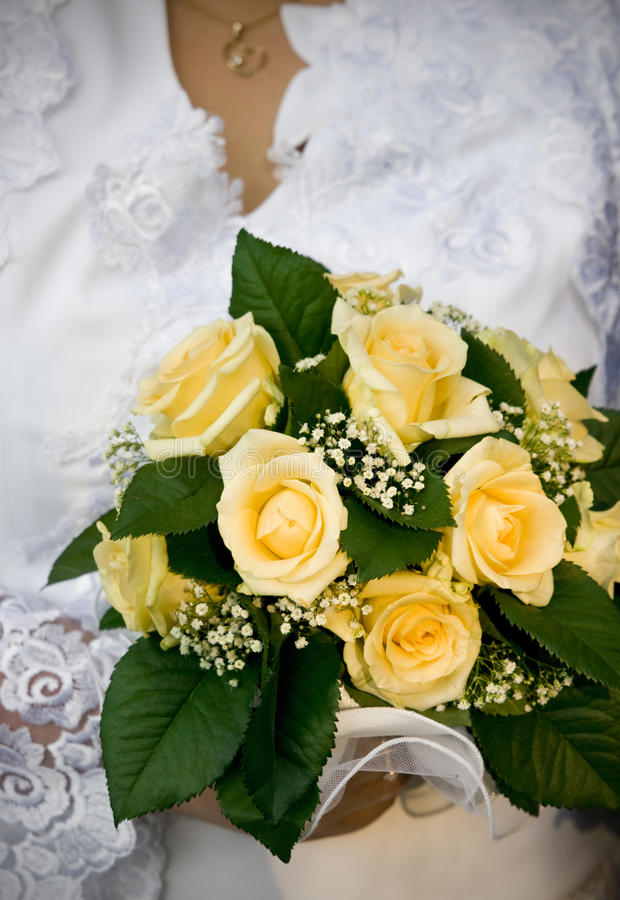 Ramalhete do casamento imagens de stock