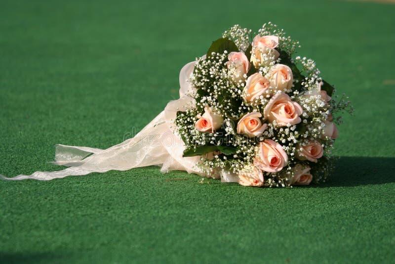 Ramalhete do casamento. foto de stock royalty free