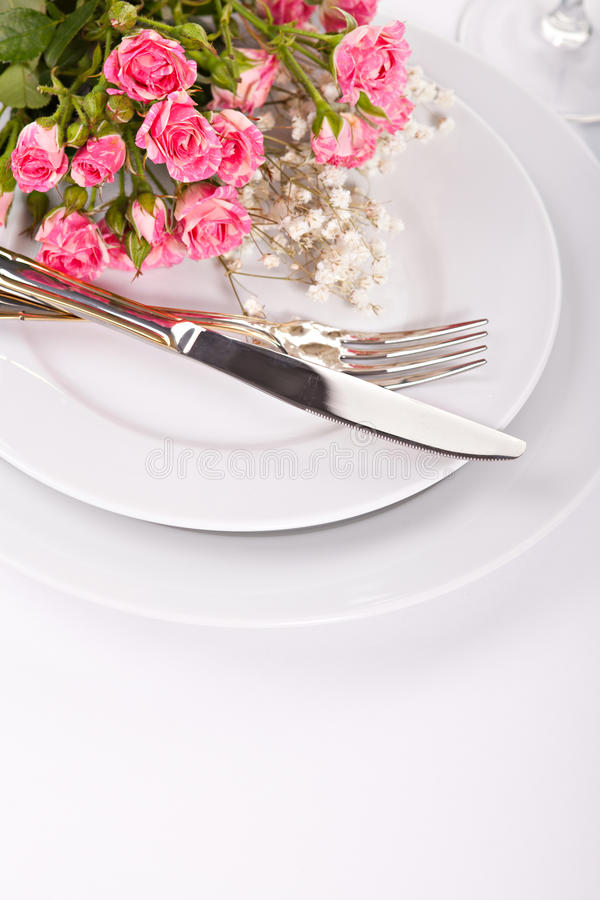 Ramalhete do close up de rosas cor-de-rosa pequenas fotos de stock royalty free